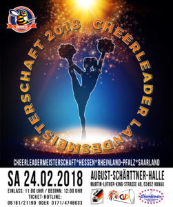 Jubiläums Cheerleadermeisterschaft in Hanau