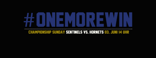 One more Win, Sentinels vs Hornets