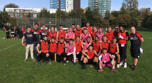 Bilanz des Flagfootball Herren Nationalteams