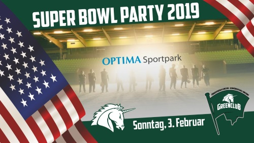 Super-Bowl-Party im OPTIMA Sportpark