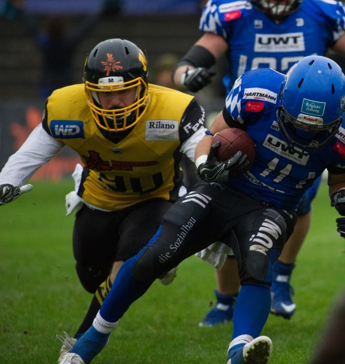 Munich Cowboys All-Star Dominic Siegel wird ein Löwe