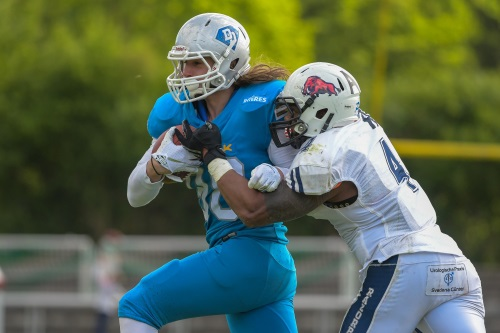 William Lloyd, Ravensburg Razorbacks stoppt den Gegner