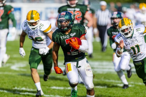Runningback Colby Goodwyn, Cologne Crocodiles