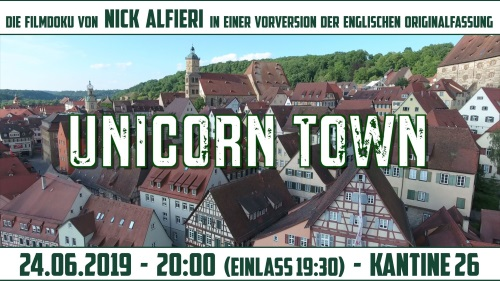 "Film ""Unicorn Town"" in der Kantine 26"