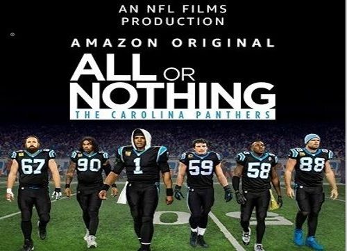 All or nothing mit den Carolina Panthers