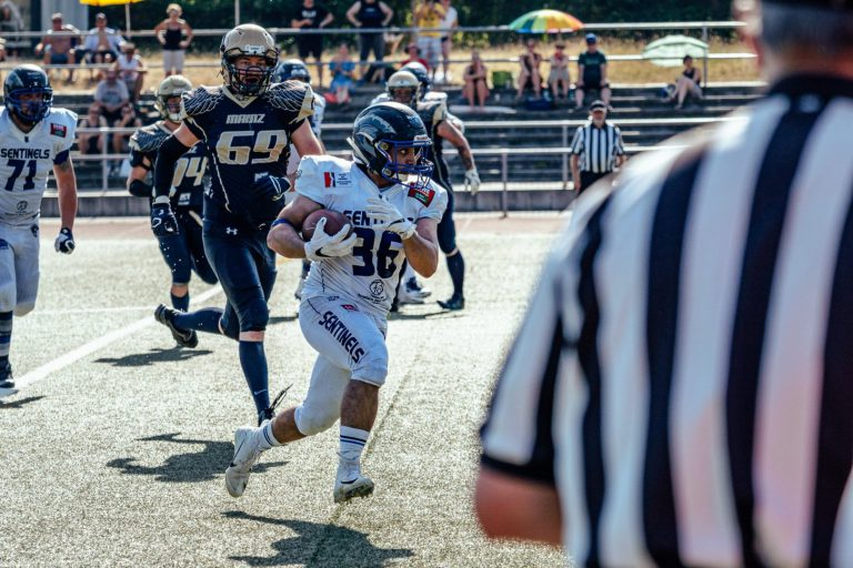 Bad Homburg Sentinels gewinnen bei den Mainz Golden Eagles