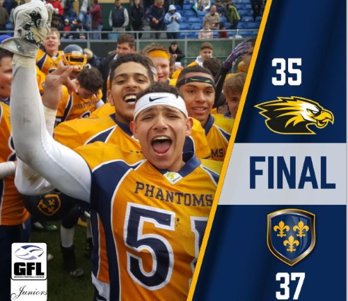 Historisch: Phantoms-U19 erreicht Junior Bowl