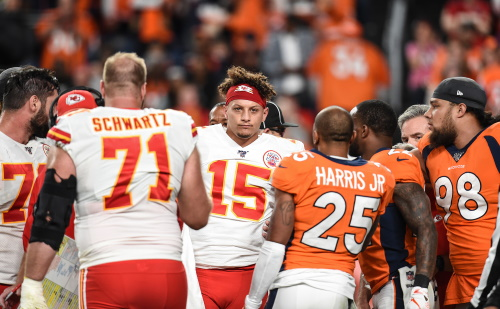 Patrick Mahomes, Quarterback der Kansas City Chiefs