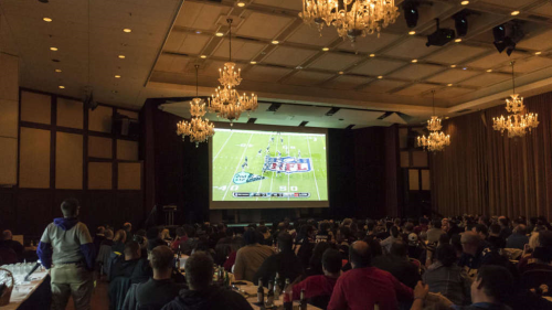 Sentinels - Superbowl-Party 2020 im Kurhaus Bad Homburg