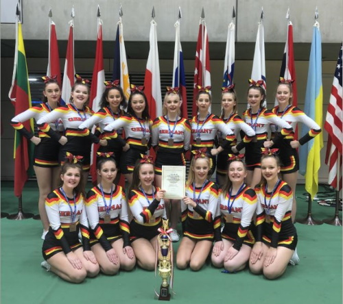 Elmshorner Cheerleader holen Bronzemedaille bei Weltmeisterschaft in Japan