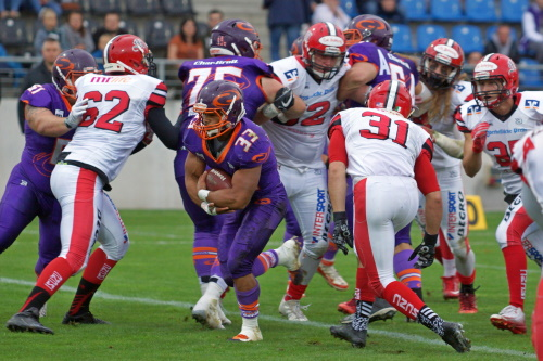 Frankfurt Universe vs Marburg Mercenaries 2019