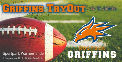 Griffins Tryout am 01.09.2020