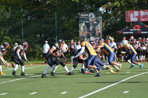 Wiesbaden Phantoms vs. Saarland Hurricanes U19