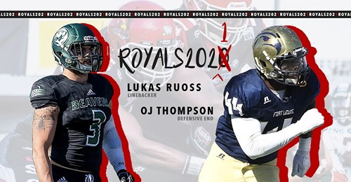 Lukas Ruoss und OJ Thompson Potsdam Royals