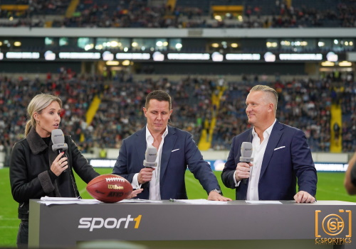 SPORT1 beim German Bowl 2019