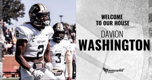 Davion Washington Swarco Raiders Tirol