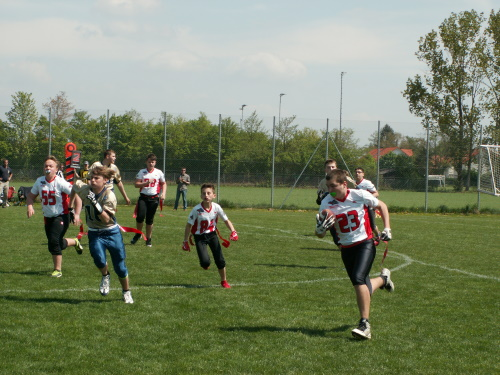 Kirchdorf Wildcats starten Flag Training