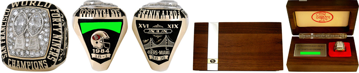 Superbowl XIX Sieger-Ring