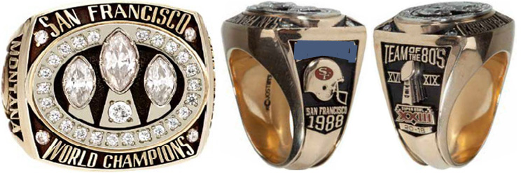 Superbowl XXIII Sieger-Ring
