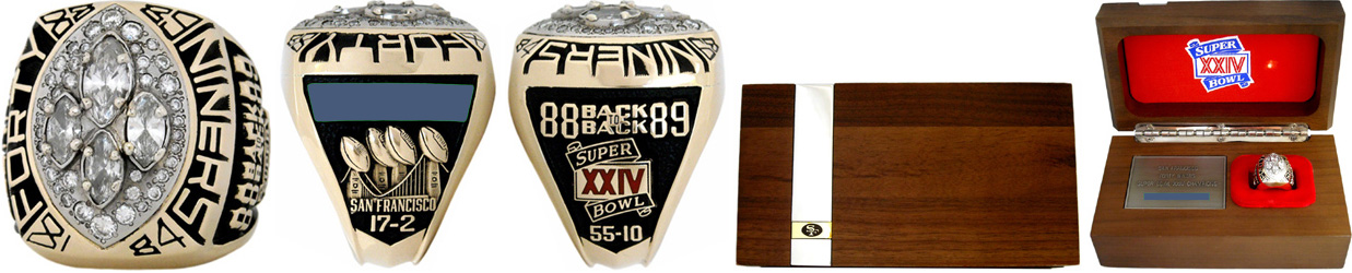 Superbowl XXIV Sieger-Ring