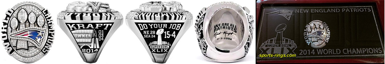Superbowl XLIX Sieger-Ring