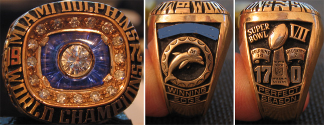Superbowl VII Sieger-Ring